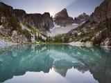 Delta Lake and the Grand Teton Photographic Print by Mike Cavaroc