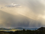 Rain Showers over Jackson Hole Photographic Print by Mike Cavaroc