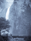 Scenic Image of Yosemite Falls in Yosemite National Park, Ca. Photographic Print by Justin Bailie