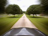 Car Motion 2 Photographic Print by Dick Reed
