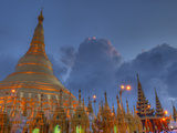 Shwedagon Pagoda, Located in Yangon, Burma (Myanmar) Photographic Print by Kyle Hammons