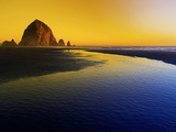 Summer Sunset in Cannon Beach, Oregon Photographic Print by Arnab Banerjee