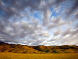 Near Caliente, California: Sunset on the Northern Most Edge of the Tejon Ranch at Sunset. Photographic Print by Ian Shive