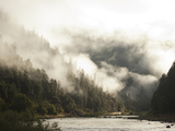 White Water Rafting Along the Wild and Scenic Rogue River in Southern Oregon. Photographic Print by Justin Bailie
