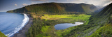 Island of Hawaii, Hawaii: Elevated View of Waipio Valley. Photographic Print by Ian Shive