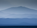 Tall Desert Mountains Rise Along the Coast of the Northern Ataca Photographic Print by Sergio Ballivian