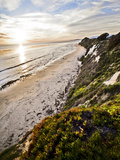 Ellwood Beach Sunset, Goleta California. Photographic Print by Bennett Barthelemy