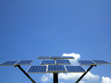 Solar Panel Photographic Print by Dick Reed