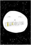 The Weather is Fine by Annimo Poster Posters