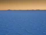 The Salar De Uyuni Salt Flat and Andes Mountains in the Distance Photographic Print by Sergio Ballivian