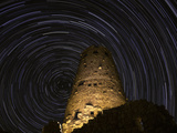 Star Trails over the Watchtower Photographic Print by Jason J. Hatfield