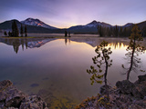 Firehouse - Sparks Lake Oregon Photographic Print by Aaron Reed