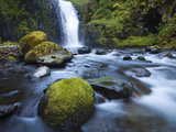 Seven Mile Falls, Eagle Creek, Oregon Photographic Print by Ethan Welty