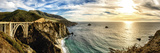 Bixby Creek Bridge Panoramic One Photographic Print by Josh Whalen