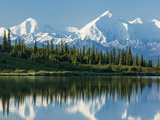 Wonder Lake, Denali National Park, Alaska Photographic Print by Howard Newcomb