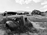 Bodie State Park, California. Shot on Ilford Hp5 Super 400. Photographic Print by Jon A. Soliday