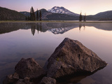 Glass - Sparks Lake Oregon Photographic Print by Aaron Reed