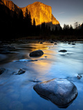 Merced River Beneath El Capitan in Yosemite National Park, California Photographic Print by Ian Shive