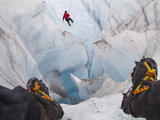 Ice Climbing Photographic Print by Ethan Welty
