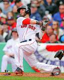Dustin Pedroia 2013 Action Photo