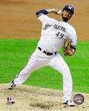 Yovani Gallardo 2013 Action Photo