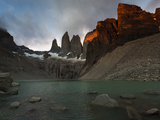 Las Torres in Torres Del Paine National Park in Patagonia, Chile Photographic Print by Patrick Brooks Brandenburg