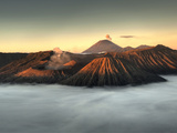 Bromo-Tengger-Semeru National Park on the Island of Java in Indonesia Photographic Print by Kyle Hammons