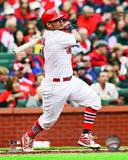 Yadier Molina 2013 Action Photo
