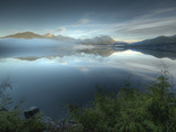 Reflection at Kennedy Lake Near the West Coast of Vancouver Island Photographic Print by Kyle Hammons