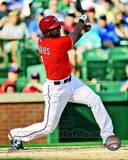 Elvis Andrus 2013 Action Photo