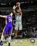 Tim Duncan 2012-13 Playoff Action Photo