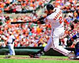 Nick Markakis 2013 Action Photo
