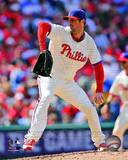 Cole Hamels 2013 Action Photo