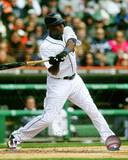 Torii Hunter 2013 Action Photo