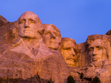 Pre-Dawn Light on Mount Rushmore Photographic Print by Mike Cavaroc