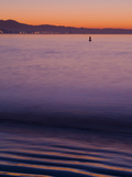 Sunrise from Beach Near Shoreline Marina in Long Beach, California Photographic Print by Melissa Southern