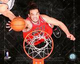 Joakim Noah 2012-13 Playoff Action Photo