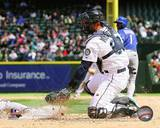 Jesus Montero 2013 Action Photo