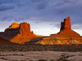 The White Rim Trail in Canyonlands National Park, Near Moab, Uta Photographic Print by Sergio Ballivian