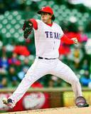 Derek Holland 2013 Action Photo