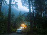 Mineral Park Campground, Mount Baker-Snoqualmie National Forest, Washington Photographic Print by Ethan Welty