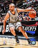 Tony Parker 2012-13 Playoff Action Photo