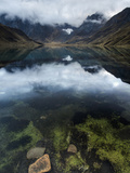 Cordillera Huayhuash of the Andes Mountains in Peru. Photographic Print by Patrick Brooks Brandenburg