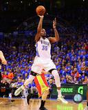 Kevin Durant 2012-13 Playoff Action Photo