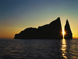 Dawn at Kicker Rock, Galapagos Islands Photographic Print by Greg Endries