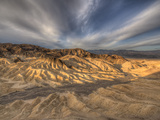 Sunrise at Zabriskie Point in California's Death Valley National Park Photographic Print by Kyle Hammons