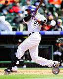 Dexter Fowler 2013 Action Photo