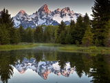Sunrise on the Beaver Pond in Grand Teton National Park, Wyoming Photographic Print by Ian Shive