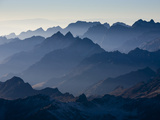 The View from Three Quarters of the Way Up Mt. Huayna Potosi, Co Photographic Print by Sergio Ballivian