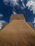 Taos, New Mexico: Saint Francis Di Assi Church Photographic Print by Ian Shive